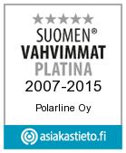 Polarline Suomen Vahvimmat PLATINA